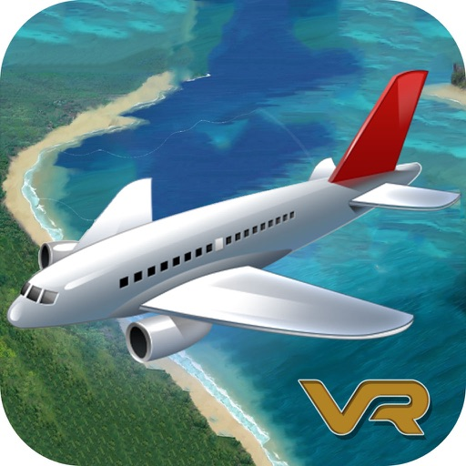 VR Airplane Simulator : 3D Virtual Reality Game-s