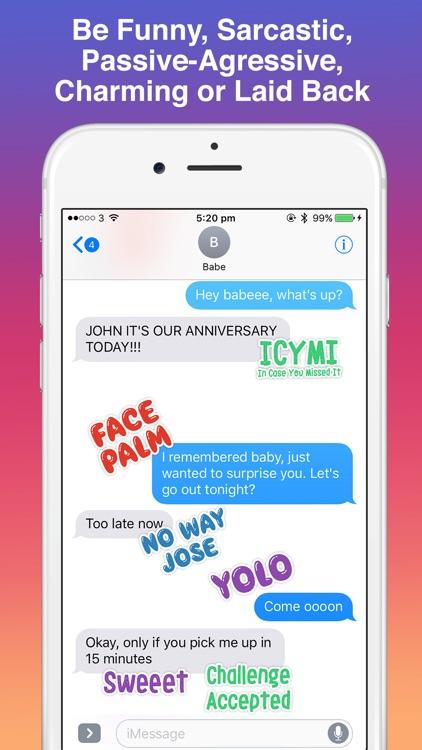 Slang Stickers - Say It Like You Mean It screenshot-3