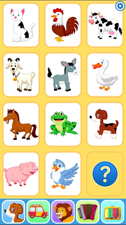 Baby Flash Cards Games & Kids Animal Sounds Free by Gennadii