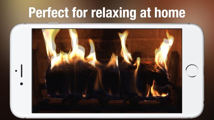 Fireplace Live HD: Relaxing backgrounds Pro screenshot-3
