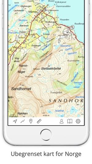 kart ipad norge Topo kart   Norge」をApp Storeで kart ipad norge