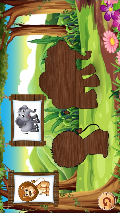 Animal Puzzles Games: little boys & girls puzzle screenshot-3