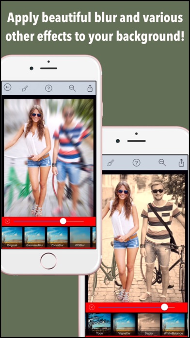Background Blur Pro - Photo Focus Edit.or for Blur.red BG Effect.s & censor or hide face screenshot one