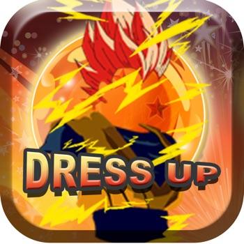 "Avatar Creator & Dress up Manga ""for Dragon Ball"""
