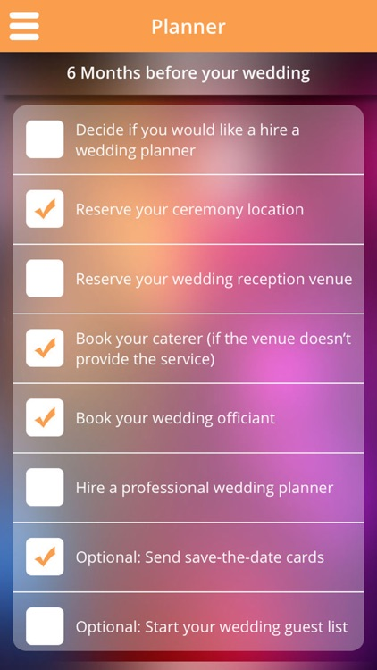 Wedding Planner - program to manage Invitations