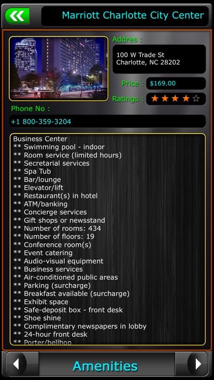 Charlotte Offline Map Travel Guide screenshot-3
