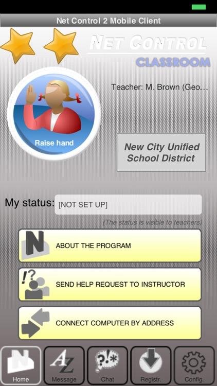 Net Control 2 Classroom Mobile Client