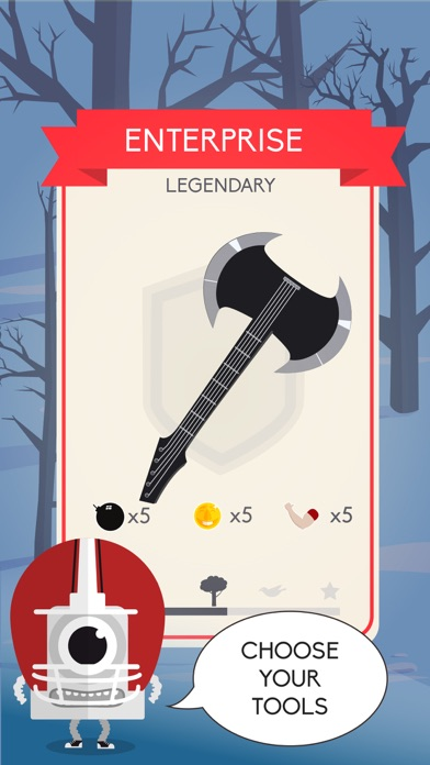Axe Odyssey - Xmas Clicker screenshot two