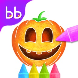 Halloween Colorbook by Tabbydo : Paint, Draw and celebrate