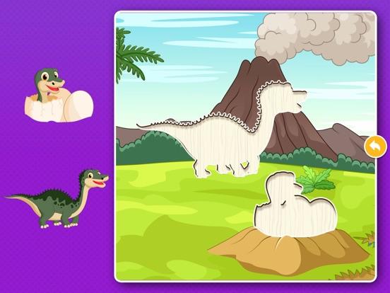 Скачать Динозавры: Игры пазлы для детей, малышей бесплатно