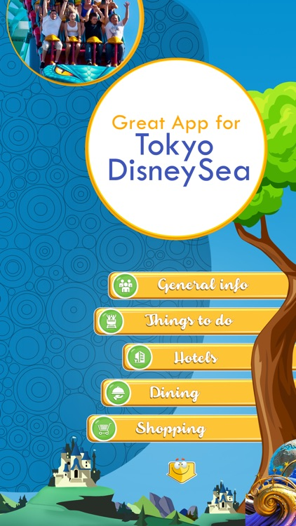 Great App for Tokyo DisneySea screenshot-1