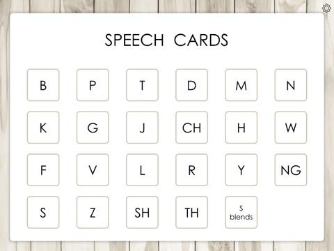 Screenshot #1 for Speech Cards by Teach Speech Apps - for speech therapy