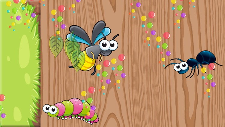 Insects Puzzles for Toddlers screenshot-4