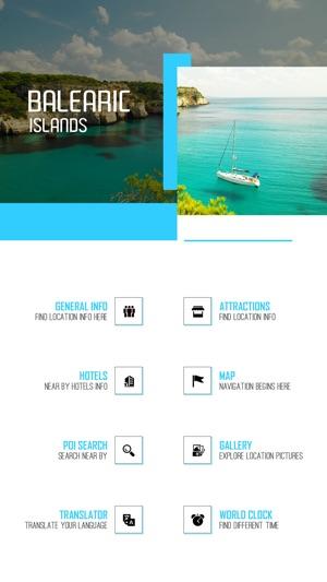 Balearic Islands Tourism Guide en App Store