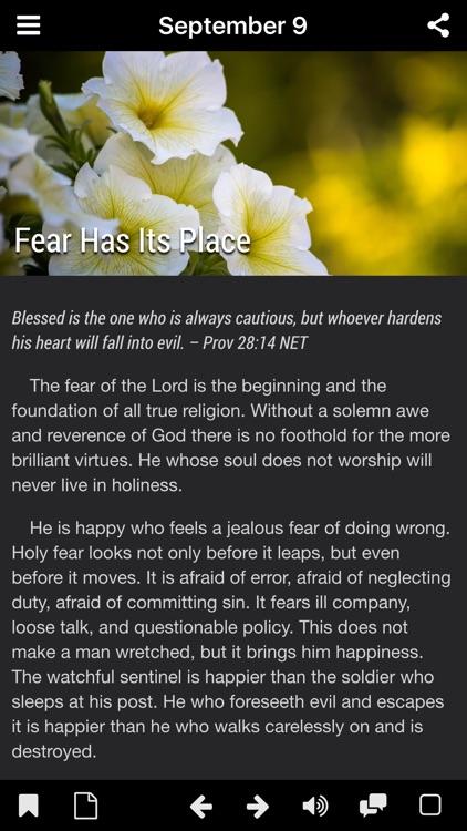 God's Promises - Faith's Checkbook Daily Devotional screenshot-4