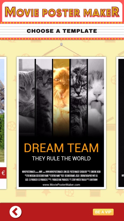 Movie Poster Maker - Make Fake Posters, Add Them to Billboard and Become Famous