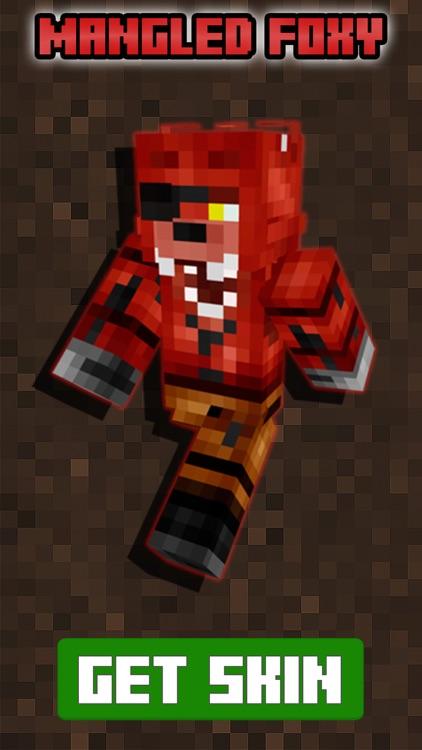 Free FNAF Skins for Minecraft PE (Pocket Edition) screenshot-3