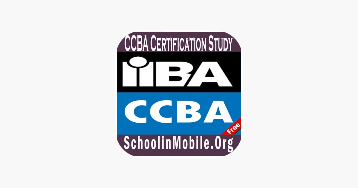 CCBA Certification Study Free on the App Store
