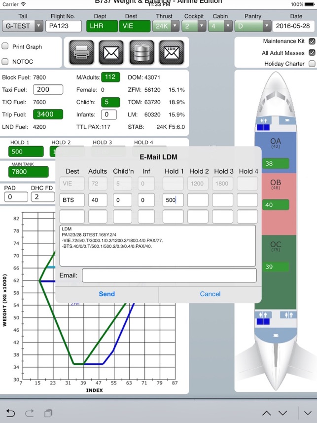 Weight And Balance B737 On The App Store