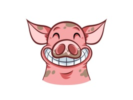 Some people being what they are, we all need a set of pig stickers now and then