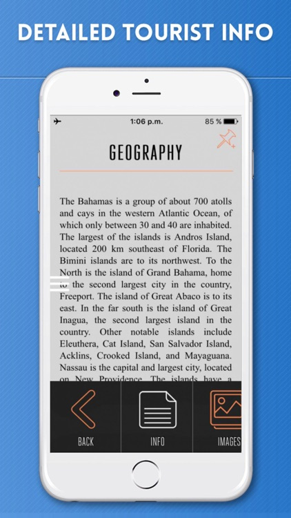 Bahamas Travel Guide and Offline Street Maps