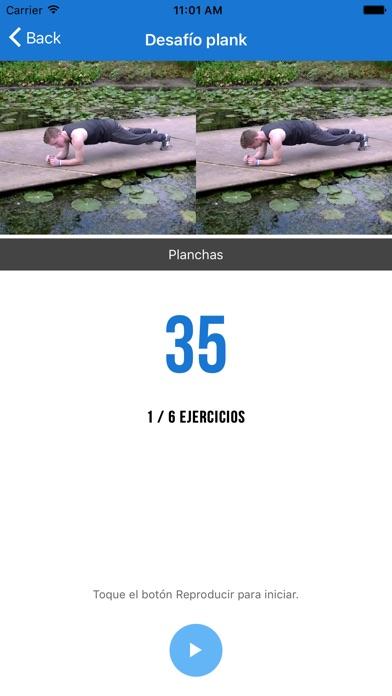 Screenshot for Ejercicios y Rutinas Gym in Ecuador App Store