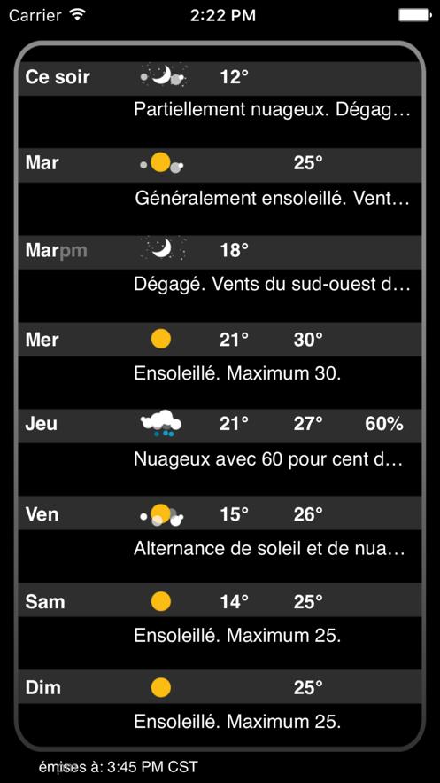 Atmosphérique Pro App 截图