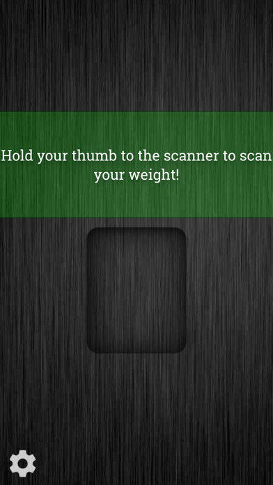 Weight Scanner screenshot one