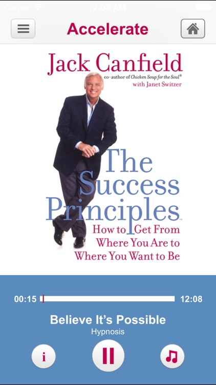 Success Principles by Jack Canfield- Audiobook Meditations A Business  and Life Learning Program from Hero Universe screenshot-1