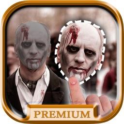 Cut paste Halloween with Stickers - Premium