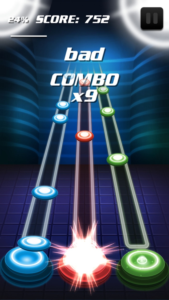 Tap Tap Hero: Be a Music Hero Screenshot