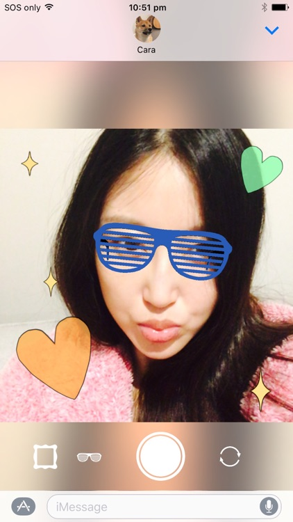Sticker Booth : Animated GIF Stickers for iMessage screenshot-3