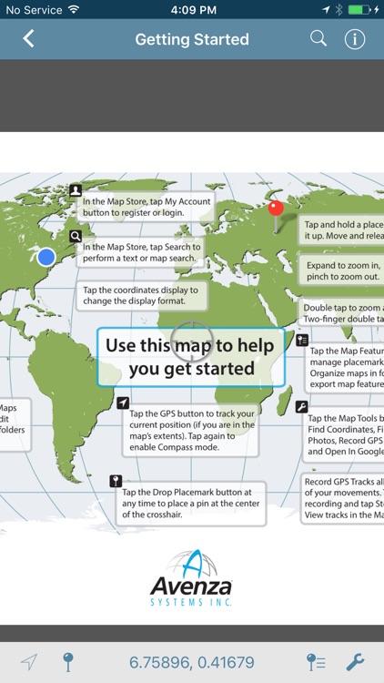 Avenza Maps app image
