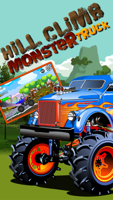 Car Truck Hill Racing : Monster Mountain ClimbСкриншоты 3