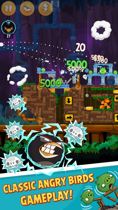 Angry Birds Classic Скриншоты6