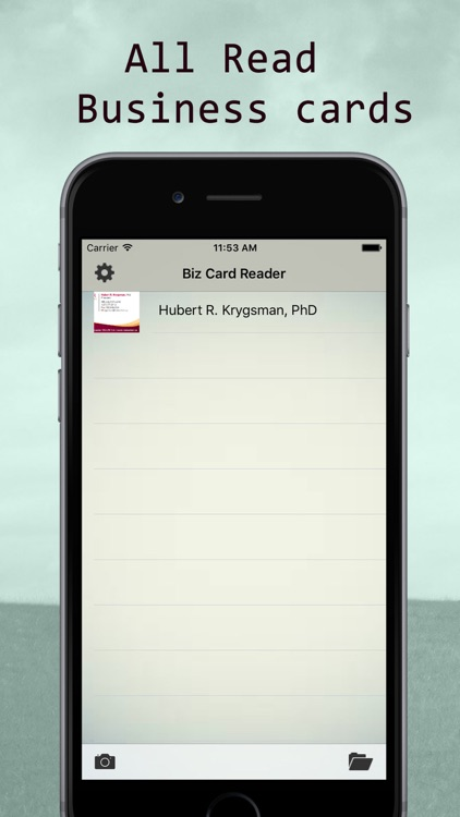 Business Card Scanner - Scan Card