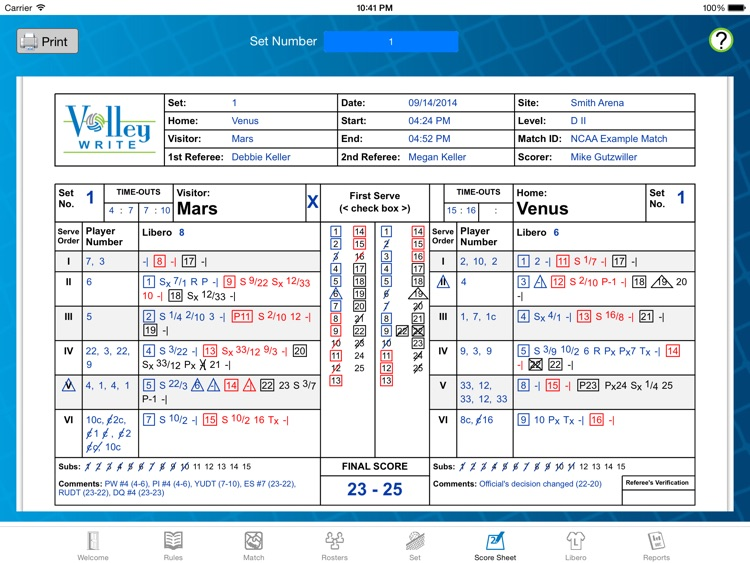 VolleyWrite Season screenshot-3