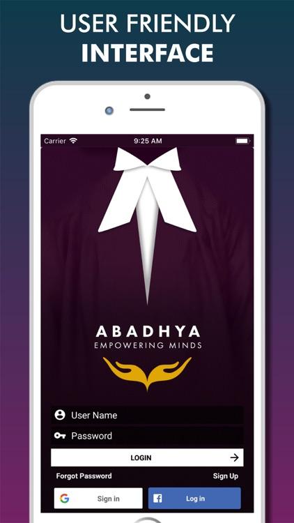 Abadhya : The Law App