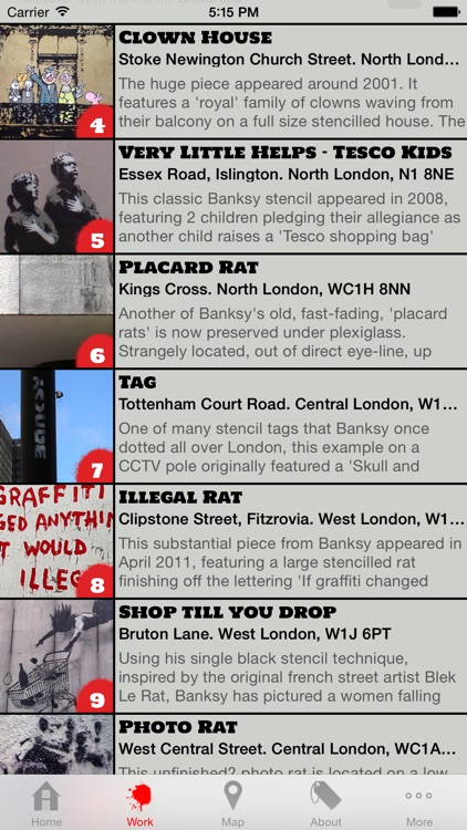 Banksy London Tour