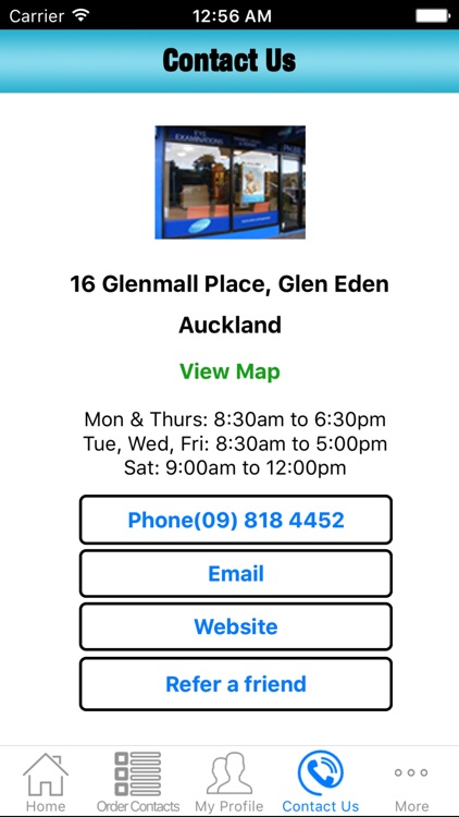 Glen Eden Optometrist screenshot-3