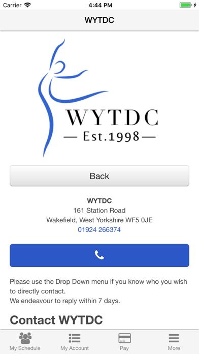 West Yorkshire Dance Centre screenshot three