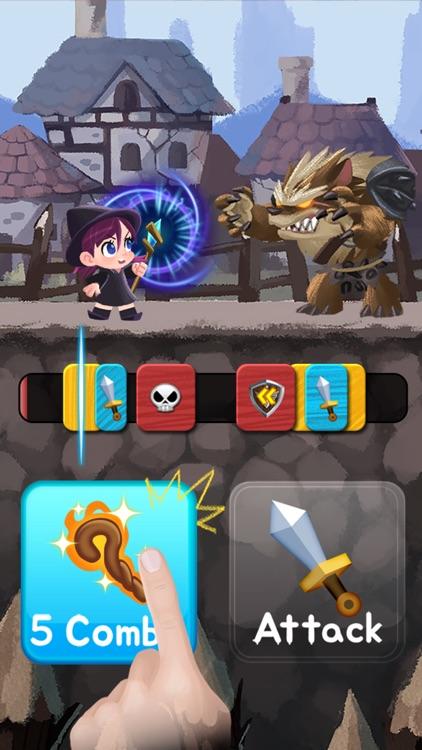Combo Heroes: Knight vs. Monster Age Super League screenshot-4