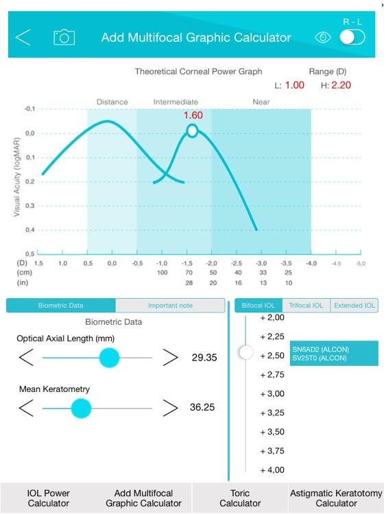 Panacea IOL & Toric Calculator screenshot-3