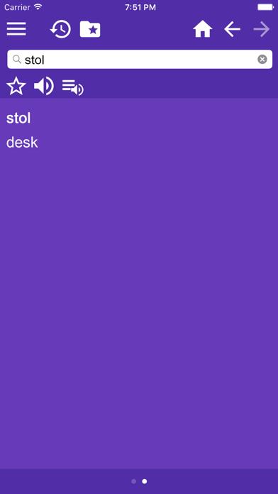 English Croatian Dictionary Free screenshot two