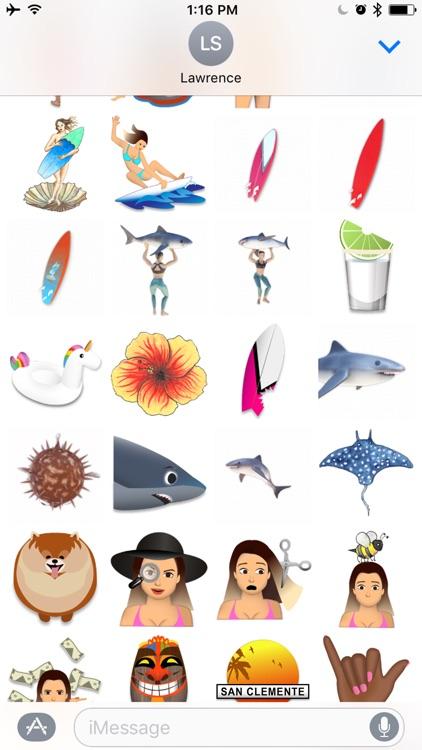 SURFmoji by Anastasia Ashley