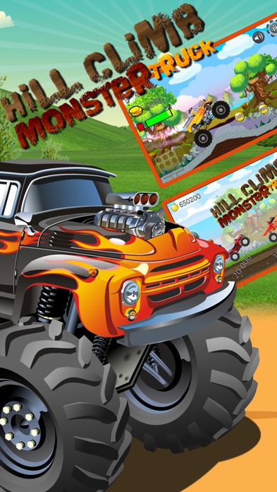 Car Truck Hill Racing : Monster Mountain ClimbСкриншоты 4