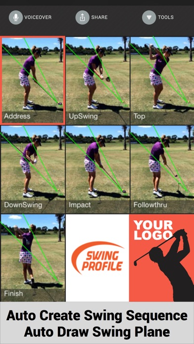 Swing Profile Golf Analyzer screenshot three