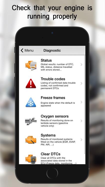 EOBD Facile - OBD2 Car Diagnostic Scan Tool app image