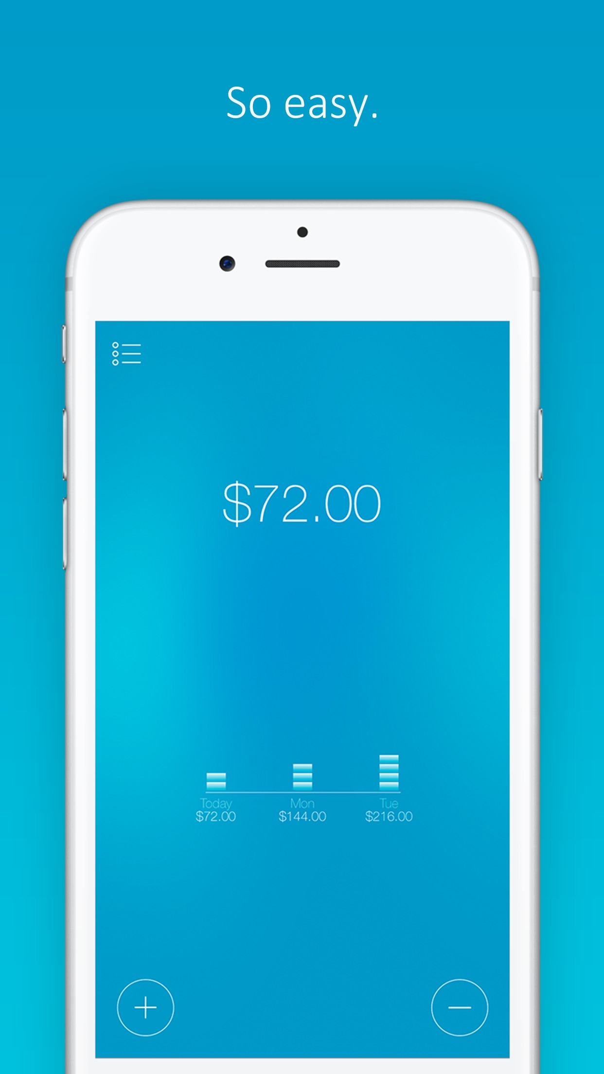 Daily Budget Original - Saving Is Fun! Screenshot
