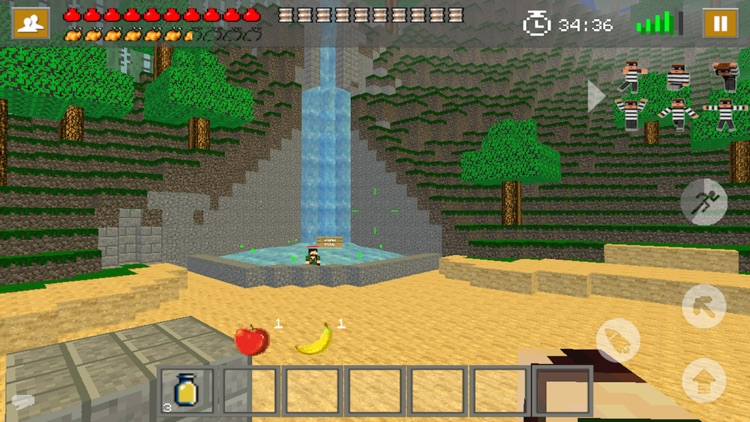 Survival Games - Mine Mini Game With Multiplayer screenshot-3